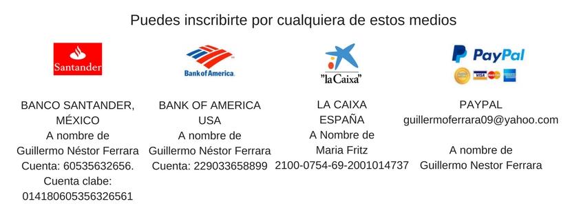 También puedes pagar por_ BANCO SANTANDER, MÉXICOA nombre de Guillermo Néstor FerraraCuenta_ _60535632656. Cuenta clabe_ 014180605356326561.jpg